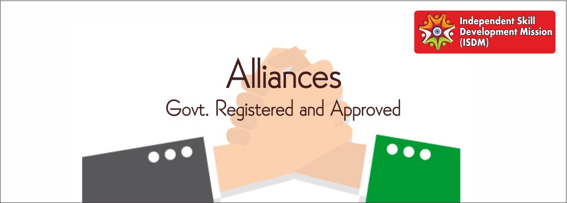 ISDM alliances, computer education registration, govt affiliation of isdm