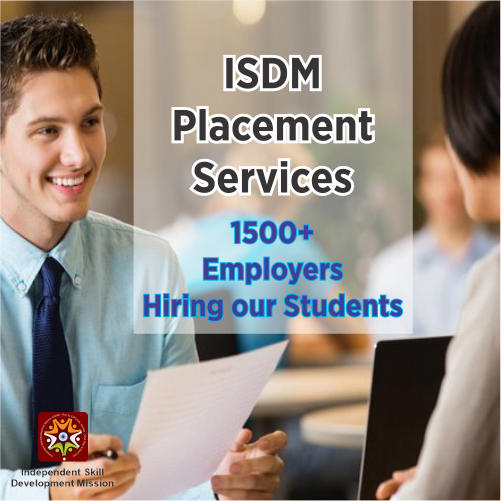 placement for students, placement services for students, isdm placement services for students