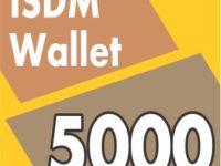 isdm wallet recharge 5000