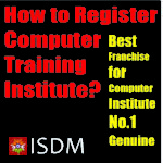 how to register comuter training institute, computer center registration process