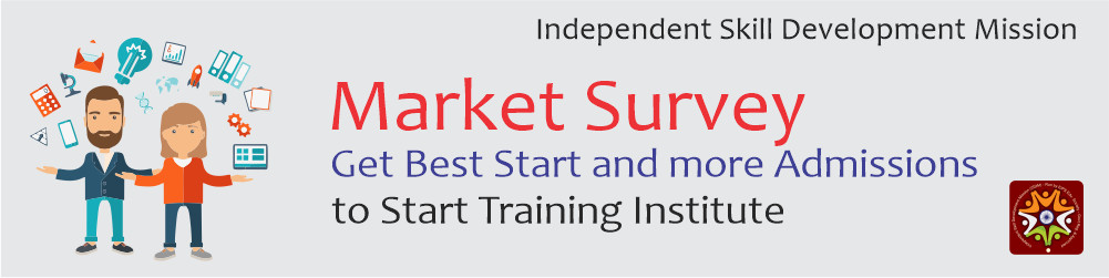 market survey to register computer institute, how to register computer training institute
