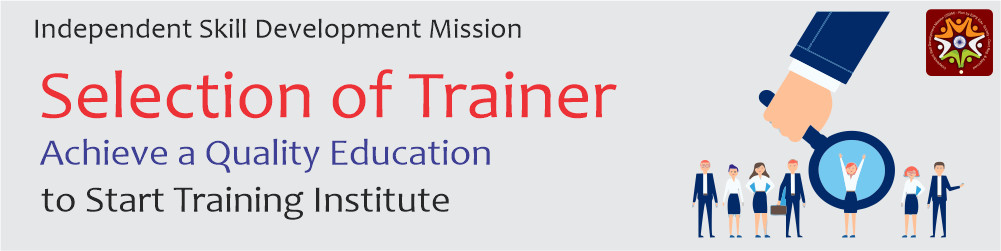 selection of trainer to register computer training institute