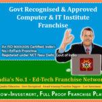govt recognised computer institute franchise, govt approved computer center franchise, govt computer institute franchise, govt affiliatin for computer institute, govt recognisation for computer institute