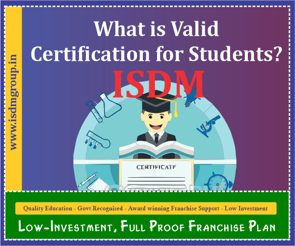 valid certificate for students, computer certificate valid in govt job, which certificate is valid in govt job, govt approved certificate in govt job